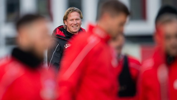 1. FC Köln: Trainingsauftakt am 5. August. 1. FC Köln Trainer Markus Gisdol