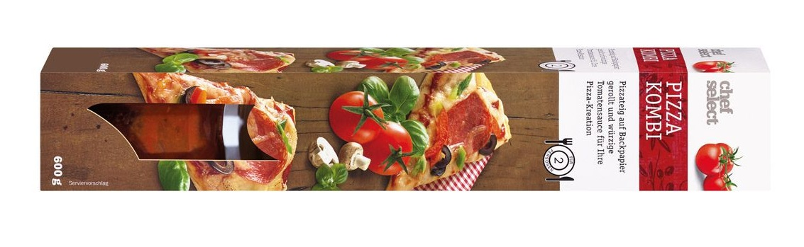 Chef select & you Pizza Kombi (Quelle: Lidl)