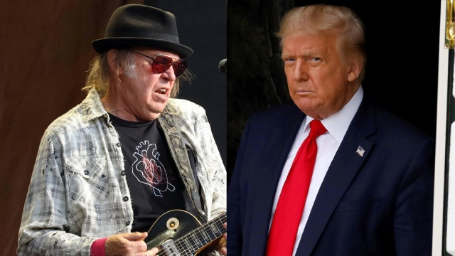 Rockstar Neil Young verklagt Donald Trump
