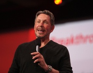 Platz 5: Larry Ellison, Gründer des Softwarekonzerns Oracle. Vermögen laut Forbes: 72 Milliarden US-Dollar (Quelle: imago images/ZUMA Press)