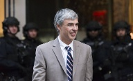 Platz 8: Larry Page, Mitgründer von Google und Ex-Chef der Google-Mutter Alphabet. Vermögen laut Forbes: 67,5 Milliarden US-Dollar (Quelle: imago images/ZUMA Press)
