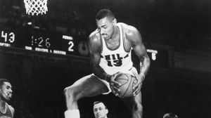 24.11.1960: Der Gigant des Basketball (Quelle: imago images/United Archives International)
