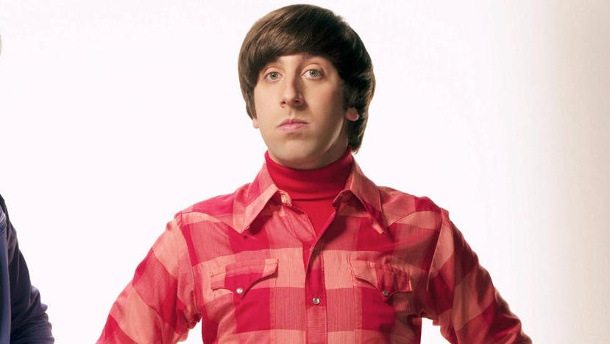 """So hat sich Howard aus """"The Big Bang Theory"""" verändert. Simon Helberg: Als Howard Wolowitz in """"The Big Bang Theory"""" wurde er zum Star. (Quelle: imago images / Mary Evans)"""