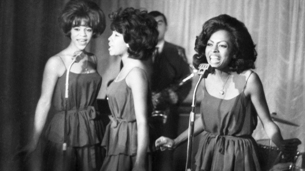 The Supremes 1964: Florence Ballard, Mary Wilson und Diana Ross (Quelle: AP/dpa/AP Photo/Bob Dear, File)