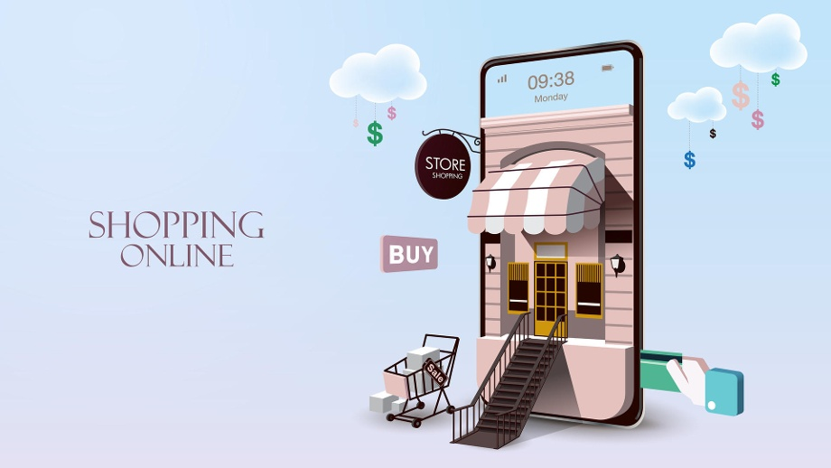 . Shopping Online on Website or Mobile Application (Quelle: Thinkstock by Getty-Images)