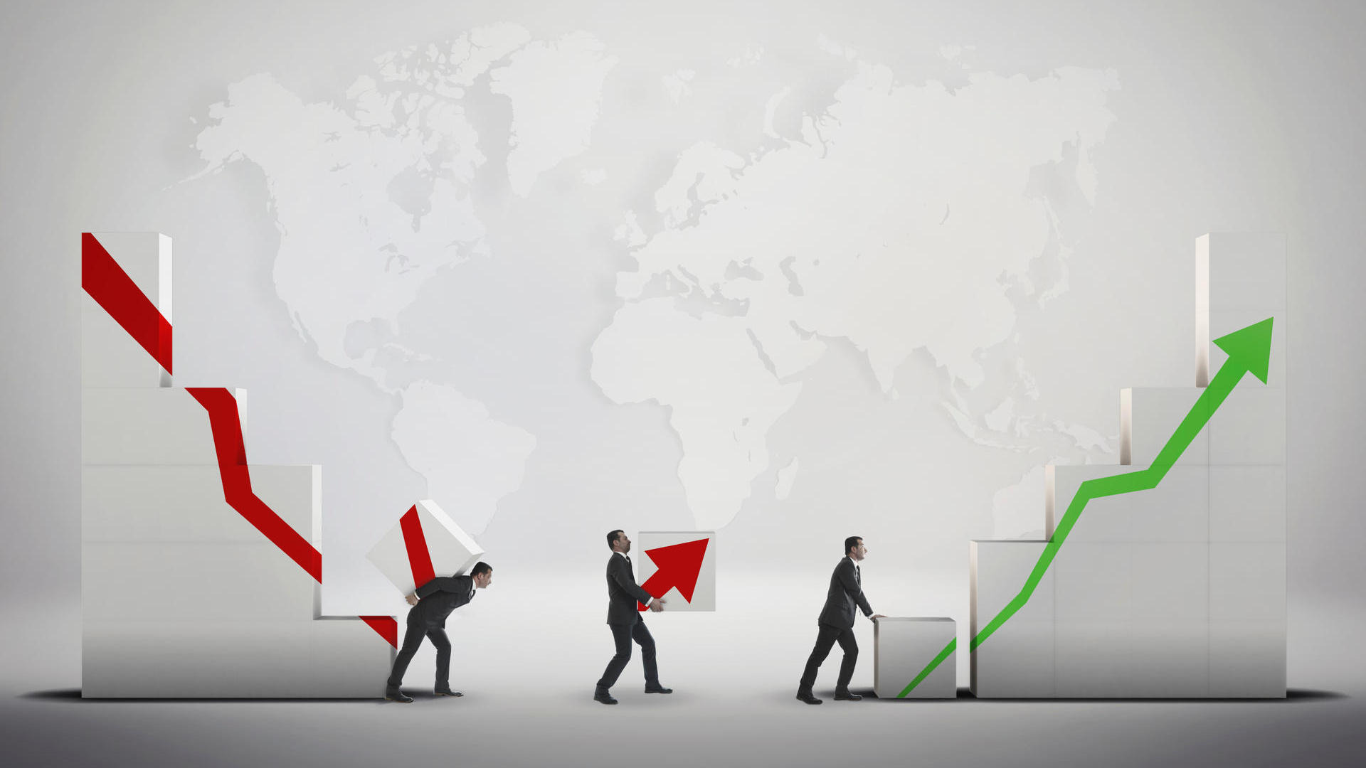 Stock Market Crash and Escape - Global Business Strategy Exchange (Quelle: Thinkstock by Getty-Images)