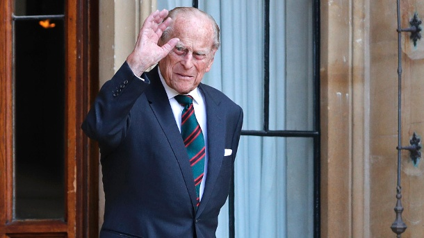 22. Juli 2020: Prinz Philip bei einer Übergabezeremonie in Windsor Castle. (Quelle: Adrian Dennis - WPA Pool/Getty Images)
