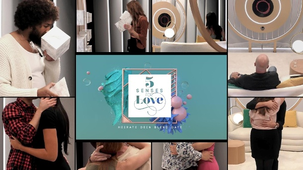 """5 Senses of Love"": Die Show startet ab dem 14. April um 20.15 Uhr.  (Quelle: Sat.1 )"