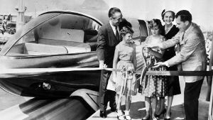 1959: Als Richard Nixon Disneyland besuchte (Quelle: imago images/United Archives International)