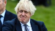 UK Prime Minister Boris Johnson attends the dedication ceremony of the new national UK Police Memorial at the National