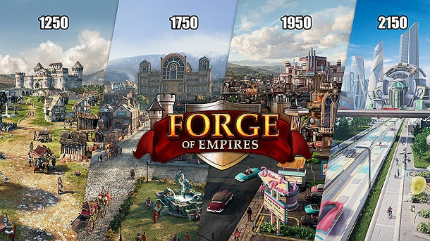 Forge of Empires: Splitscreen Ages (Quelle: Innogames)
