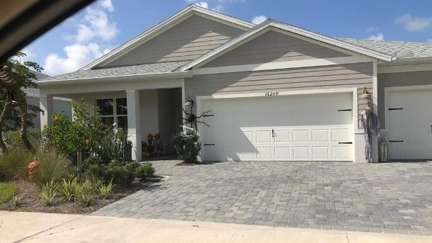 Michael Wendler's new home in Florida.  (Source: private)